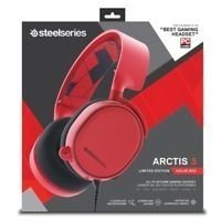 HEADSET STEEL SERIES ARCTIS 3 RED - comprar online
