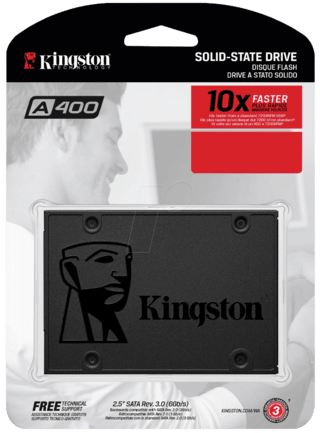 SSD 120GB KINGSTON A400 SATAIII 2.5 - Uno Informática Ecommerce