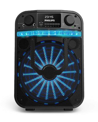PARLANTE PHILIPS PARTY CARRY ON TANX20/77 BLACK - comprar online