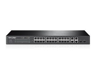 SWITCH 24P TP-LINK SL2428 10/100 + 4P GIGA en internet