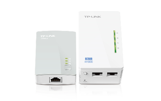 KIT EXTENSOR POWERLINE TP-LINK WPA4220KIT AV500 - Uno Informática Ecommerce
