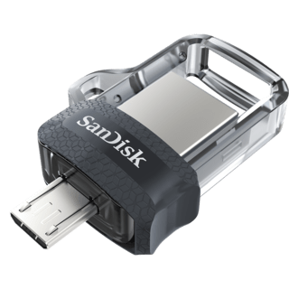PENDRIVE 128GB SANDISK ULTRA DUAL DRIVE M3.0