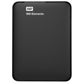 HD 1 TB PORTABLE WD ELEMENTS 3.O USB 2.5 BLACK - comprar online