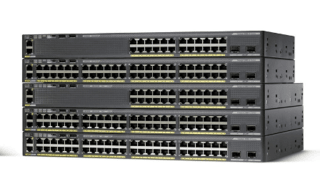 SWITCH 48P CISCO CATALYST 2960-XR GIGA+4SFP (OUTLET)