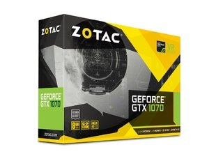 PLACA VGA 8GB GTX 1070 ZOTAC MINI MEDIUM PACK - comprar online