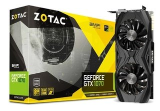 PLACA VGA 8GB GTX 1070 TI ZOTAC AMP! EDITION