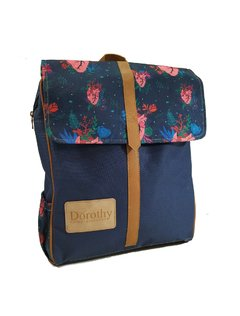 Mochila Porta Notebook Retro Amor