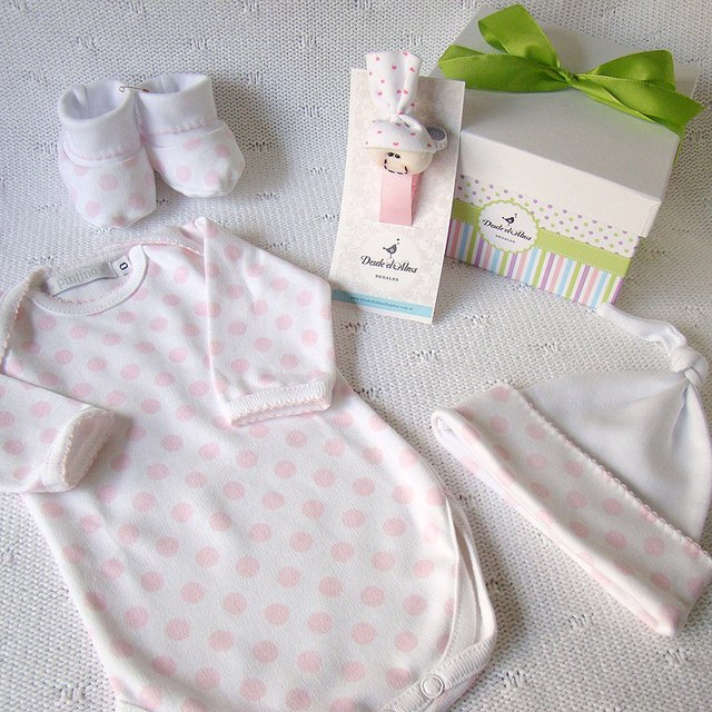 MINI AJUAR BEBE ESTAMPADO