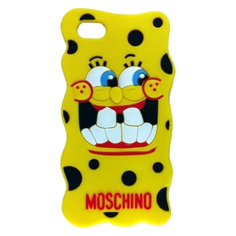 MOSCHINO BOB ESPONJA IPHONE 5