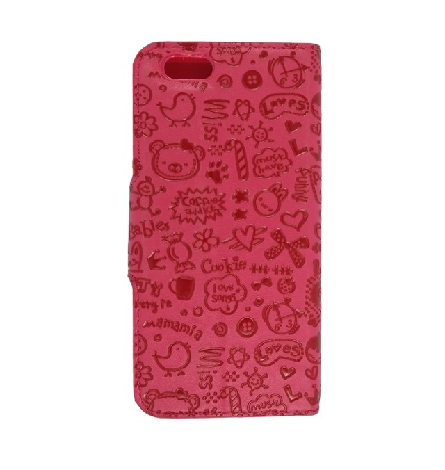 LEATHER DESIGN IPHONE 6 ROSA