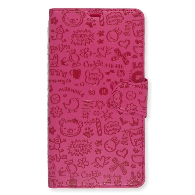 LEATHER DESIGN LG G4 ROSA