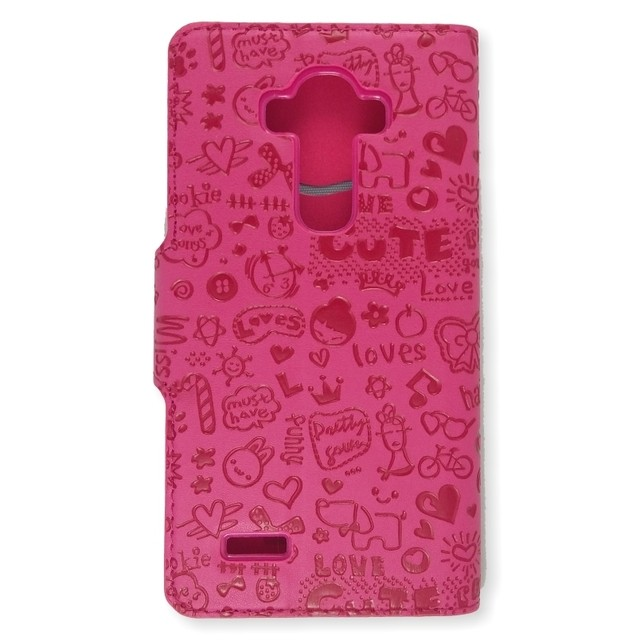 LEATHER DESIGN LG G4 ROSA - comprar online
