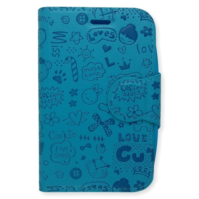 LEATHER DESIGN LG L30 CELESTE