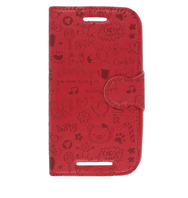 LEATHER DESIGN LG LEON ROJO