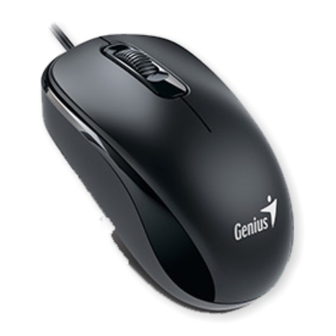 MOUSE OPTICO GENIUS DX-110 NEGRO USB