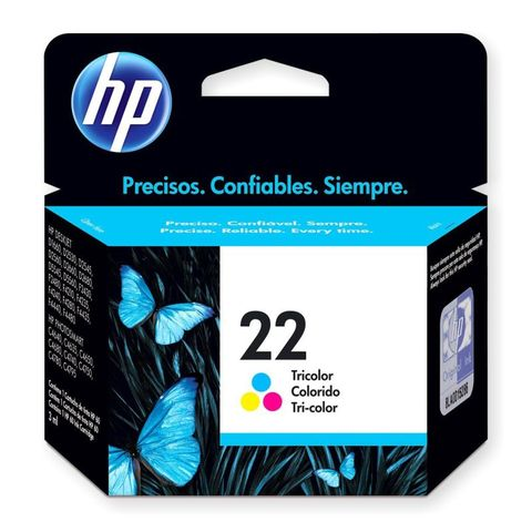 ORIGINAL HP 22 COLOR