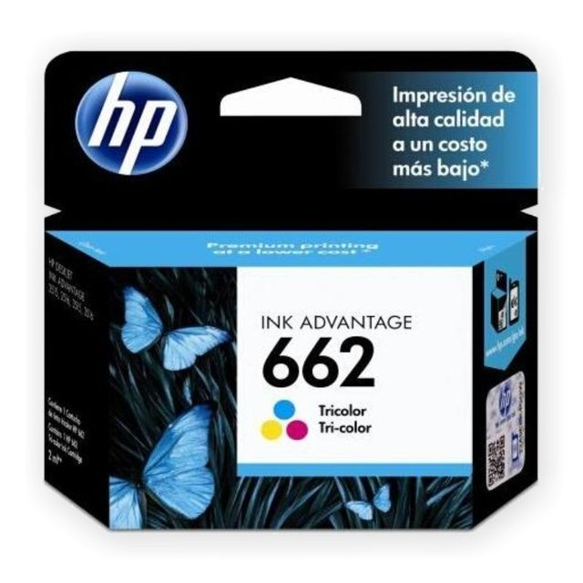 ORIGINAL HP 662 COLOR - comprar online