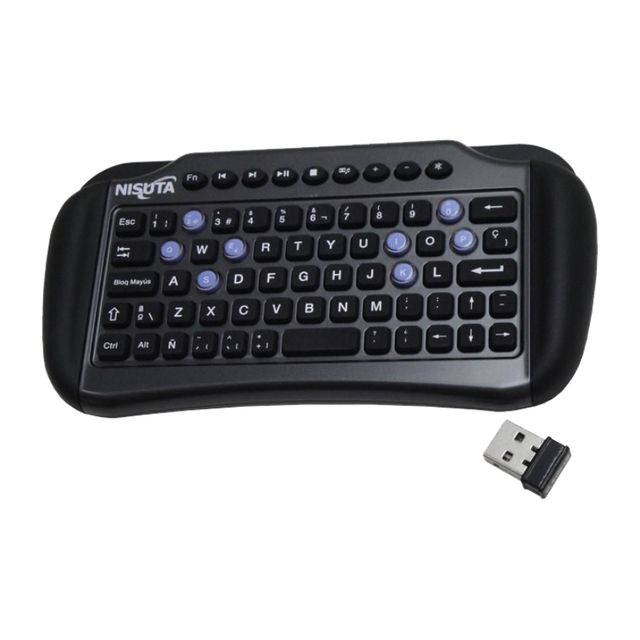 TECLADO WIRELESS MINI CON PAD PARA SMART TV NS-WIKTV95