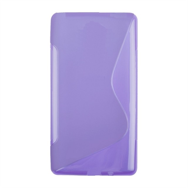 LEATHER CASE LG L80 VIOLETA