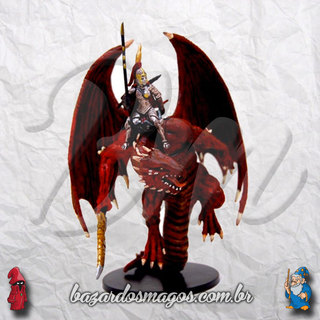 #043 Red Dragonkin Rider