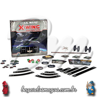 X-Wing Miniature Game Starter SET (INGLÊS/Importado) na internet