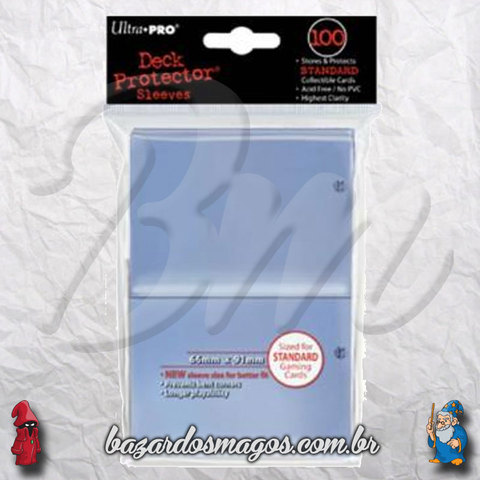 Ultra Pro Card Sleeves Clear 66x91mm (100un)