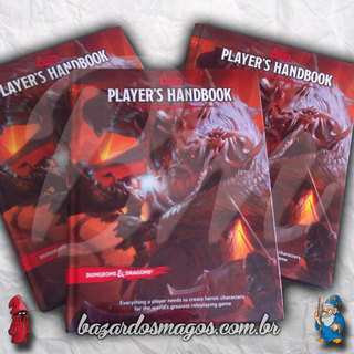 Player's Handbook D&D Next (5e) na internet