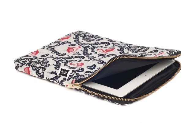 Funda Tablet - Con Cierre - Vintage Flamingo en internet