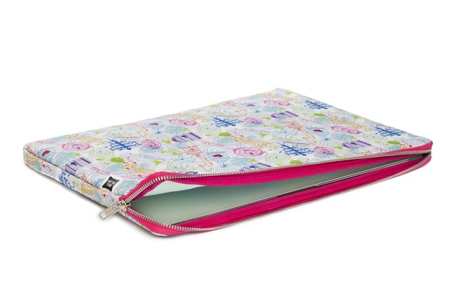 Funda Notebook - Pajaritos en internet