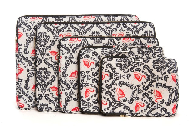 Funda Tablet - Con Cierre - Vintage Flamingo - Miss Pillow