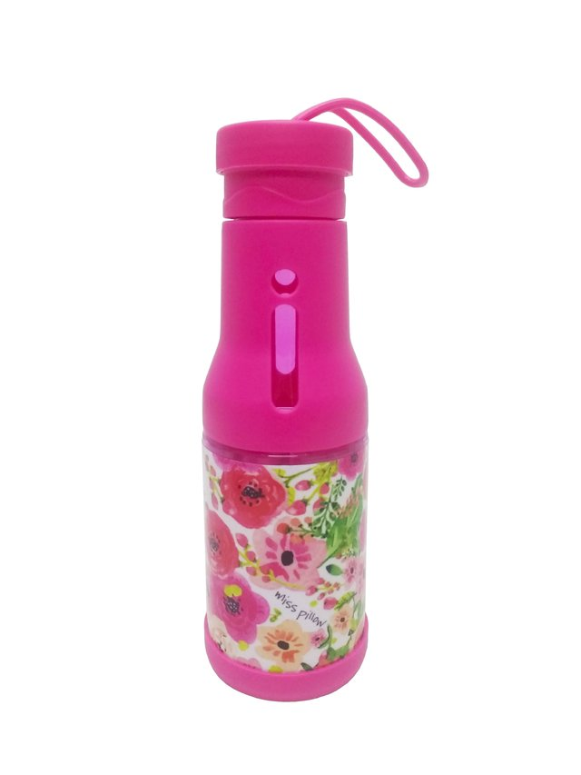 Botella de Agua Flores Rosas - Miss Pillow - Miss Pillow - comprar online