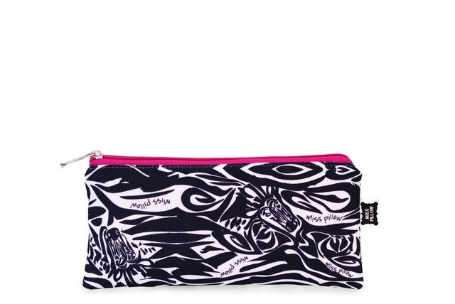 Cartuchera Slim - Zebra - Miss Pillow