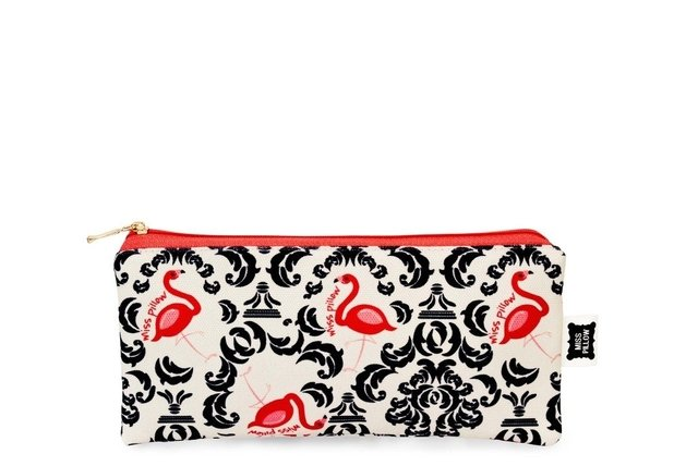 Cartuchera Slim - Vintage Flamingo - Miss Pillow - comprar online
