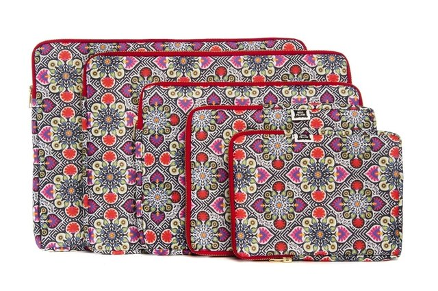 Funda Tablet - Con Cierre - Mosaico en Flor - Miss Pillow
