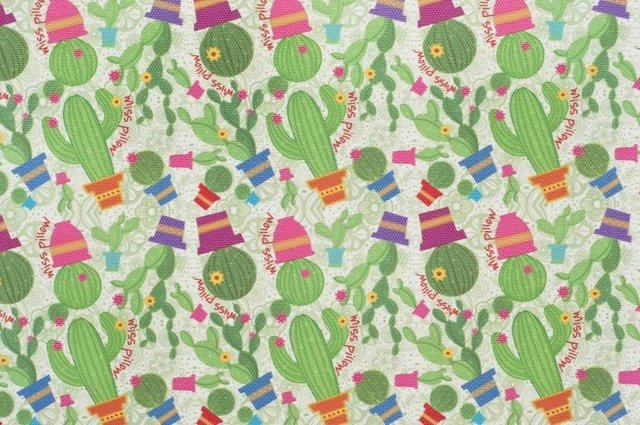 Cambiador para Bebe - Cactus Fan - Miss Pillow