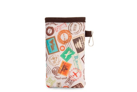 Funda Celular con ganchito - Estampillas