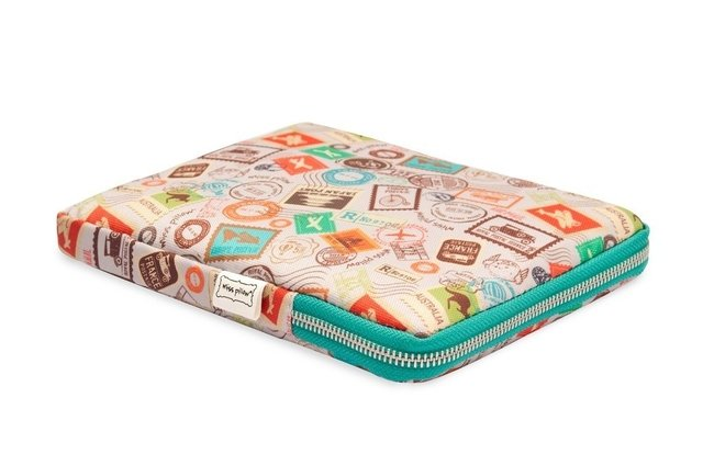 Funda Tablet - Con Cierre - Estampillas - Miss Pillow