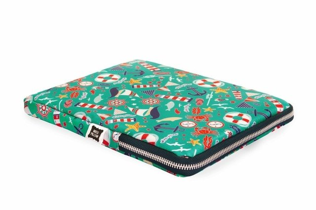 Funda Tablet - Con Cierre - Navy - Miss Pillow