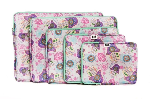 Funda Tablet - Con Cierre - Suerte - Miss Pillow - Miss Pillow