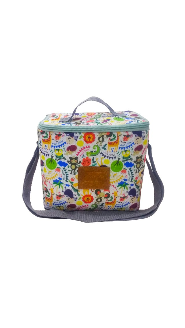Lunchera con tira - Zoo - Miss Pillow - comprar online