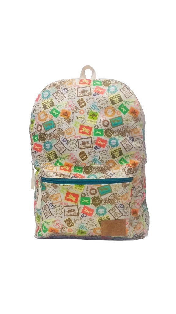 Mochila - Estampillas - Miss Pillow - comprar online