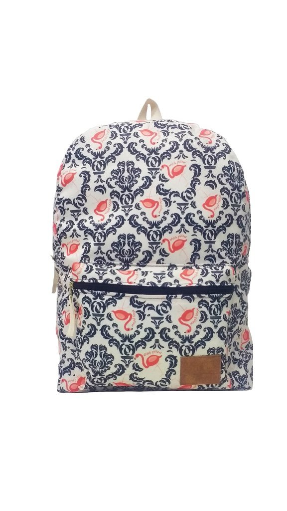 Mochila - Vintage Flamingo - Miss Pillow - comprar online
