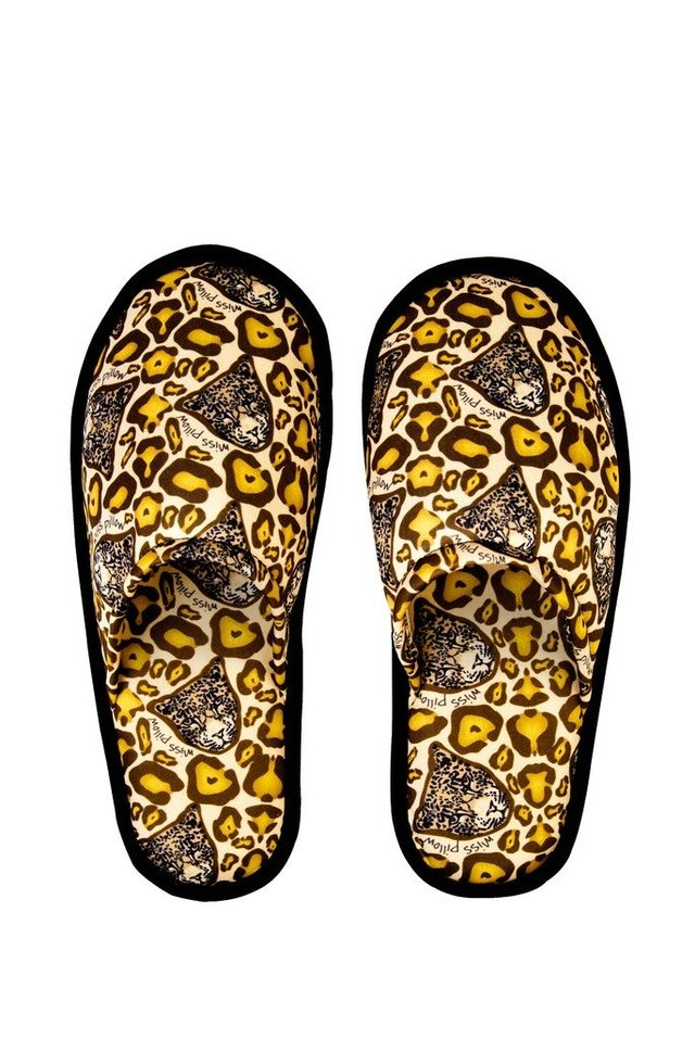 Pantuflas - Leopard Lover - Miss Pillow