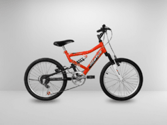 Bicicleta Aro 20 Status Full Suspension 6V na internet