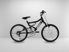 Bicicleta Aro 20 Status Full Suspension 6V - Pedale Agora
