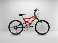 Imagem do Bicicleta Aro 20 Status Full Suspension 6V