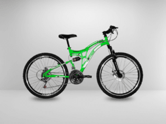 Imagem do Bicicleta Aro 26 Full Suspension Elleven Raptor Freio a Disco