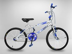 Bicicleta Cross BMX Light Azul Aro 20
