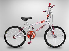 Bicicleta Cross BMX Light Vermelha Aro 20