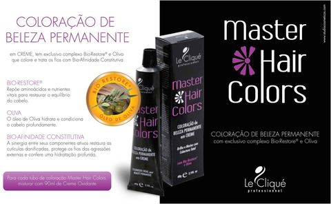 Master Hair Colors - Coloração Permanente 60g
